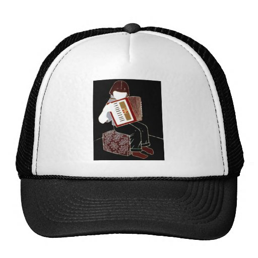 Child with Accordion Hats