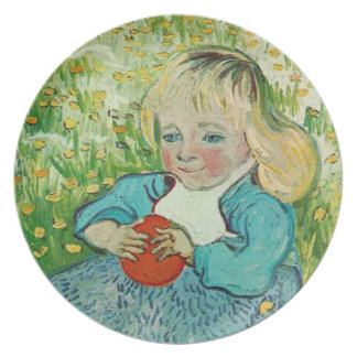 Child with an Orange by Vincent van Gogh Plate