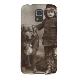 Child With Dog, C1885 Galaxy S5 Case