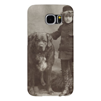 Child With Dog, C1885 Samsung Galaxy S6 Cases