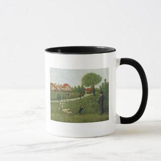 Child with Geese Mug