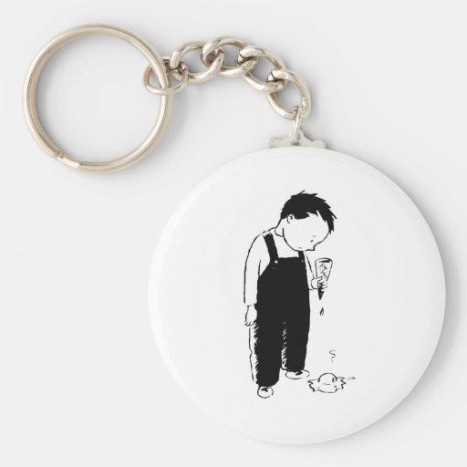 Child with Ice Cream Cone Key Chains