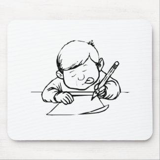 Child Writing Mousepad