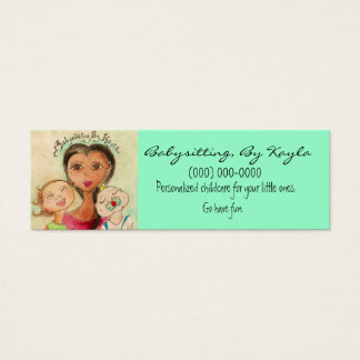 Childcare/Babysitting Card