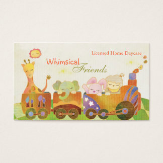 Childcare Daycare BabySitter Business Cards