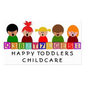 Childcare Kindergarten Business Card Templates