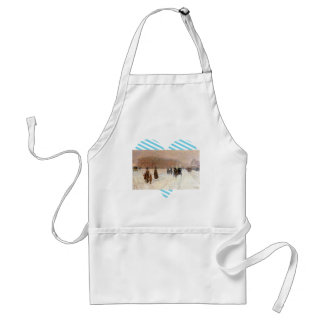 Childe Hassam - An urban fairy tale land Aprons
