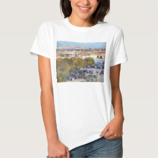 Childe Hassam - Central Place and Fort Cabanas Hav T-shirt