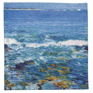 Childe Hassam - Duck Island From Appledore Napkin