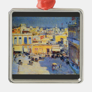 Childe Hassam - Havana Cuba Christmas Ornament