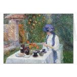 Childe Hassam - The Terre-Cuits Tea Set Cards