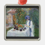 Childe Hassam - The Terre-Cuits Tea Set Christmas Ornaments