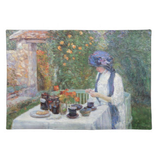 Childe Hassam - The Terre-Cuits Tea Set Placemat