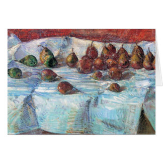 Childe Hassam - Winter Sickle Pears Card