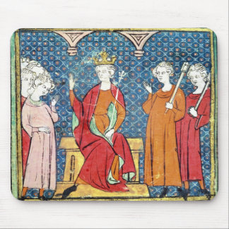 Childeric II , Merovingian King of Austrasia Mouse Mat