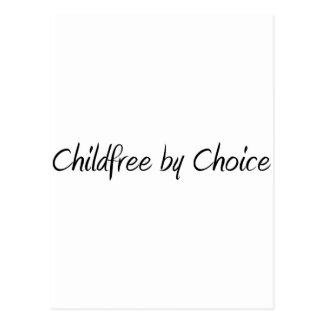 Childfree by Choice #1 Postcard