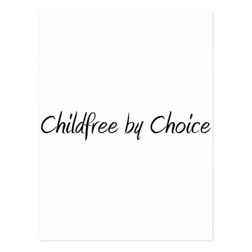 Childfree by Choice #1 Postcard