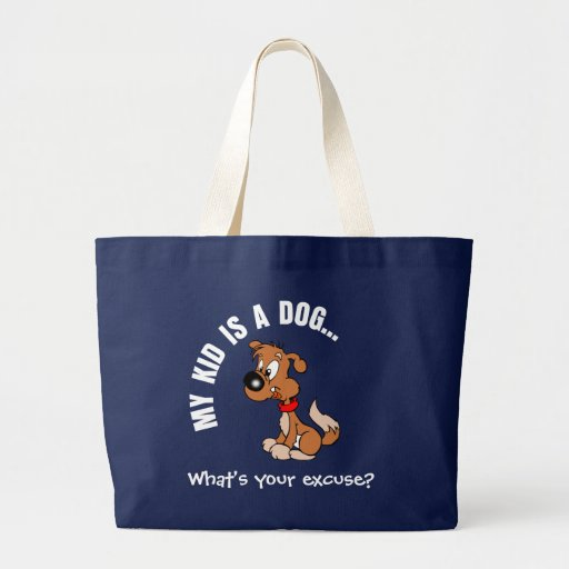 Childfree Dog Owner Vs Parents with Bad Kids Tote Bag