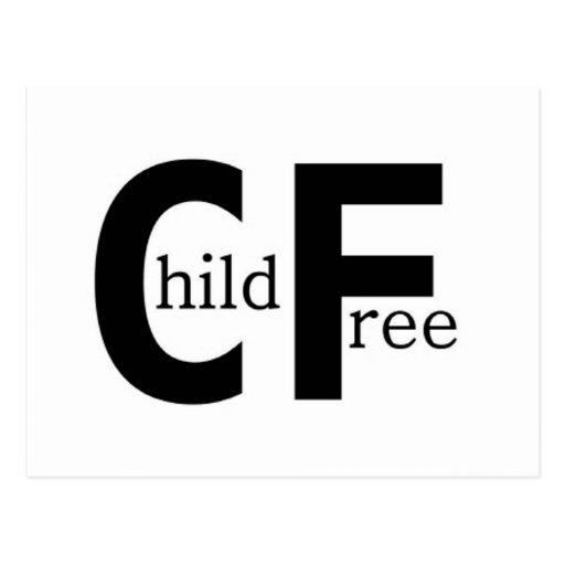 Childfree Postcards