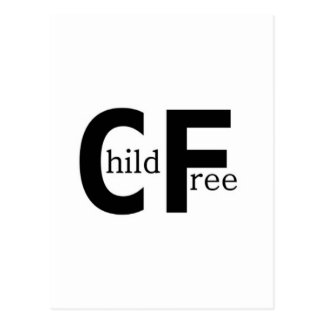 Childfree Postcard