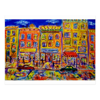 Childhood Bronx  2 by Piliero Postcard