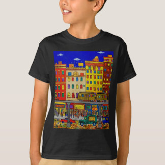 Childhood Bronx 6 by Piliero T-Shirt