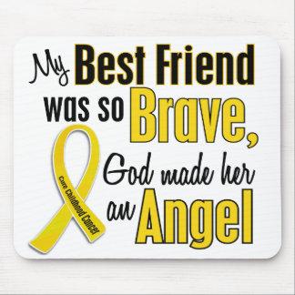 Childhood Cancer ANGEL 1 Best Friend (Female) Mouse Mat