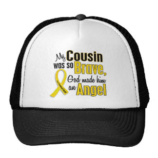 Childhood Cancer ANGEL 1 Cousin (Male) Cap