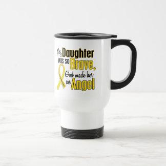 Childhood Cancer ANGEL 1 Daughter Travel Mug