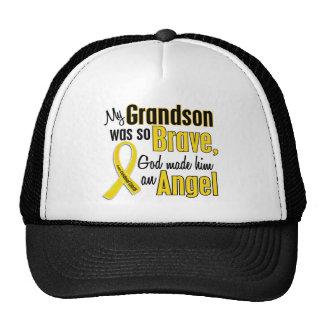 Childhood Cancer ANGEL 1 Grandson Cap