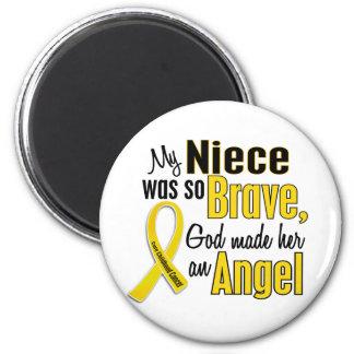 Childhood Cancer ANGEL 1 Niece Magnet