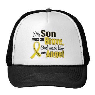 Childhood Cancer ANGEL 1 Son Cap