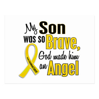 Childhood Cancer ANGEL 1 Son Postcard