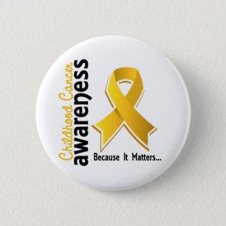 Childhood Cancer Awareness 5 6 Cm Round Badge