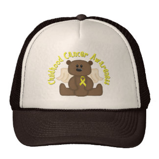 Childhood Cancer Awareness Bear Cap