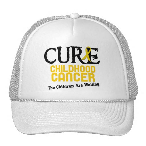 Childhood Cancer Awareness CURE Hat