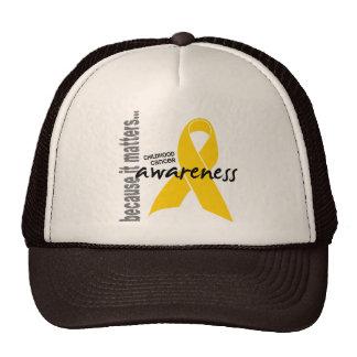 Childhood Cancer Awareness Trucker Hats