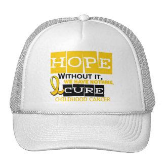 Childhood Cancer Awareness HOPE 2 Cap