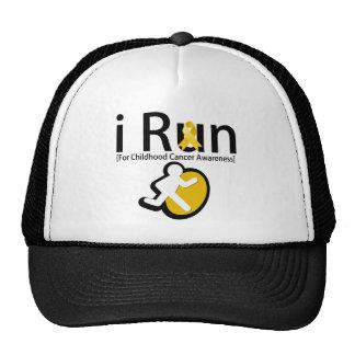 Childhood Cancer Awareness I Run Hats