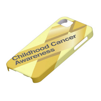 Childhood Cancer Awareness iphone case