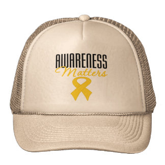 Childhood Cancer Awareness Matters Cap