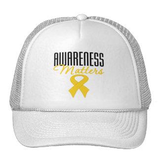 Childhood Cancer Awareness Matters Trucker Hat