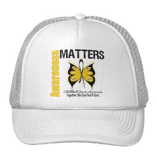Childhood Cancer Awareness Matters Hat