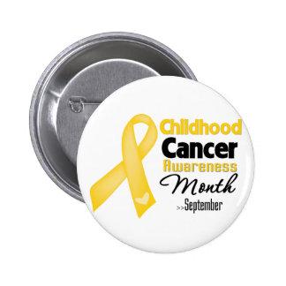 Childhood Cancer Awareness Month 6 Cm Round Badge