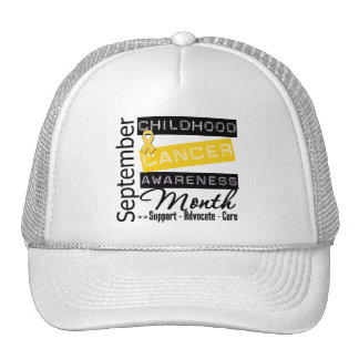 Childhood Cancer AWARENESS  Month Cap