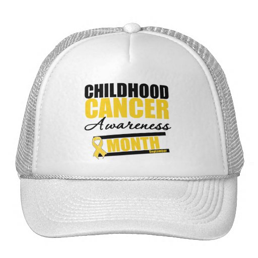 Childhood Cancer Awareness Month Gifts Hat