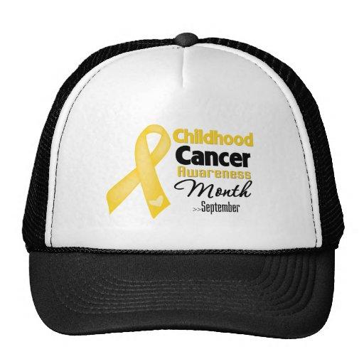 Childhood Cancer Awareness Month Hats