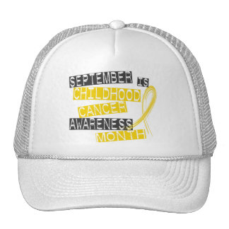 Childhood Cancer Awareness Month L1 Cap