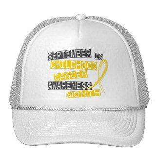 Childhood Cancer Awareness Month L1 Trucker Hats