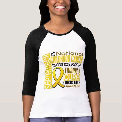 Childhood Cancer Awareness Month Ribbon I2 1.5 T Shirts